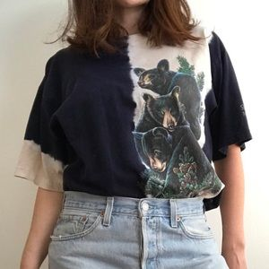 Vintage forest bears shirt